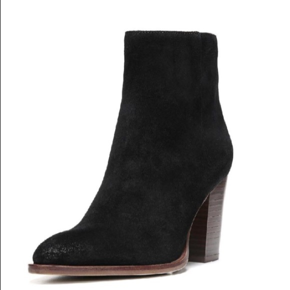 1c35b0b4f190 Sam Edelman Blake Black Suede Ankle Boots Size 8. M 5b92f859951996ea81e2579e